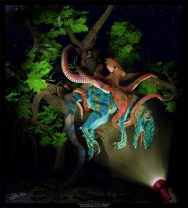 Ocean Invasion #1: Octopus arborealus